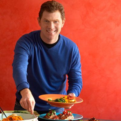 """<p><b>What's Bobby Flay's secret to stuffing?</b> """"Celery, onion, and garlic are all classic ingredients found in classic American stuffing. I add a Latin note with the addition of spicy chorizo and some goat cheese because I love it and it goes really well with wild rice,"""" says Flay. """"It may not be classic, but it's delicious.""""</p>  <p><b>Try Bobby Flay's Latin-inspired recipe: </b> <a href=""""/recipefinder/bobby-flay-wild-rice-goat-cheese-dressing""""><b>Bobby Flay's Wild Rice and Goat Cheese Dressing</b></a></p>"""