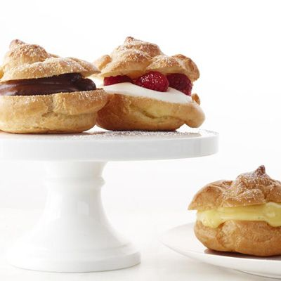 "<p>This classic recipe for cream puffs is made with choux pastry and bakes up into airy, tender puffs.</p><p><b>Recipe: </b><a href=""/recipefinder/cream-puffs-recipe-fw0113"" target=""_blank""><b>Cream Puffs</b></a></p>"
