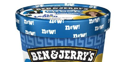 """<p>Ben & Jerry's unveiled its new pint just hours before the series finale of 30 Rock last night. Aptly titled, Liz Lemon, the flavor is a lemon Greek frozen yogurt with a blueberry lavendar swirl. Ben & Jerry's hopes that the ice cream release will make the show's ending """"more sweet than bitter.""""</p>  <p><a href=""""/food/recalls-reviews/ben-jerrys-30-rock-ice-cream""""><b>Read the Whole Story</b></a></p>"""