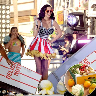Katy Perry: Fruit and Veggies