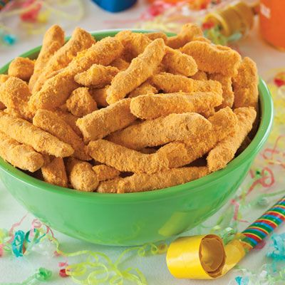 "<p>Your favorite cheesy, crunchy snack can be made at home.</p> <p><strong>Recipe:</strong> <a href=""../../../recipefinder/cheetos-recipe-del0313"" target=""_blank""><strong>Cheetos</strong></a></p>"