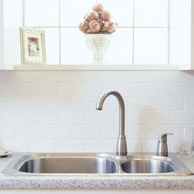 """There can be millions of pathogens (disease-causing germs) clinging to the sink, the seal of the drain and the rubber gasket around the garbage disposal,"" says Dr. Reynolds. While proper cooking lowers your chance of foodborne illness, germs like salmonella, which lives in much of the chicken you bring home, can linger in your sink after you wash the food that contains it. Touch your face after touching the sink and you've just spread the germs. <br /><br /> <b>What to do:</b> Clean your sink immediately after rinsing raw meat, veggies and pet bowls and once a day even when you don't wash food or pet dishes. Spray a disinfectant (look for the EPA registration number in tiny print on the label), which kills most bacteria and viruses, on the faucet, sink sides, sink bottom and sink strainers. ""Don't just wipe and go. Leave the product on the surface for the contact time recommended on the label,"" says Dr. Reynolds."
