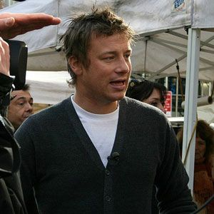 """<p>Jamie Oliver is well known as a celebrity chef, but he is also known as an advocate for healthy school lunches. In early 2012, a report from the Physicians Committee for Responsible Medicine made news for criticizing Oliver's <i>Meals in Minutes</i>, characterizing the book as, """"one of the worst cookbooks of 2011,"""" from the health aspect.</p>  <p><a href=""""/food/recalls-reviews/jamie-oliver-cookbook-2011-unhealthiest-list""""><b>Read the Whole Story</b></a></p>"""