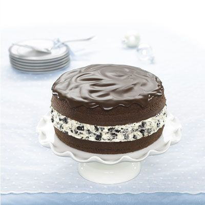 Miraculous Chocolate Covered Oreo Cookie Cake Recipe Funny Birthday Cards Online Overcheapnameinfo