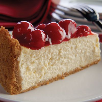 "<p>It's a rich, creamy, cherry-topped showstopper that's so easy, even beginners can pull it off.</p>  <p><b>Recipe:</b> <a href=""/recipefinder/our-best-cheesecake-recipe-kft0313""><b>Our Best Cheesecake</b></a></p>"