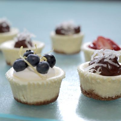 Philadelphia Mini Cheesecakes Recipe