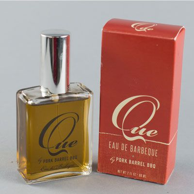 "<p>If the man in your life just can't get enough barbecue (and who can, really?), Pork Barrel BBQ's ""Que"" is his perfect fragrance. Smoky, spicy, and a little bit sweet, this distinctive cologne combines all the things you love about one of the South's most iconic foods, and allows you to enjoy it anywhere, anytime.</p><p><a href=""http://www.porkbarrelbbq.com/barbeque-cologne-que/"" target=""_blank"">porkbarrelbbq.com</a></p>"