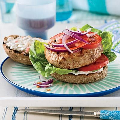 "<p>A spicy combination of pickled hot peppers and garlicky dill pickles adds heat and complexity to this cool, yogurt-based turkey burger topper.</p><br /><p><b>Recipe: <a href=""/recipefinder/turkey-burgers-spicy-pickle-sauce-recipe"" target=""_blank"">Turkey Burgers with Spicy Pickle Sauce</a></b></p>"