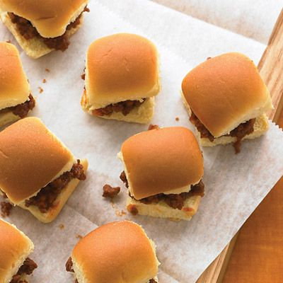"<p>With leaner ground sirloin, the sliders have less fat and the rolls won't get soggy.</p> <p><b>Recipe:</b> <a href=""/recipefinder/sloppy-joe-sliders-recipe-mslo0511"" target=""_blank""><b>Sloppy Joe Sliders</b></a></p>"