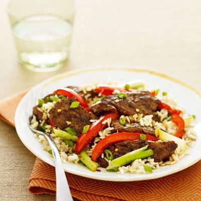 "<p>Rice (especially brown rice) is a healthy, versatile grain that's delicious in stir fries, soups, casseroles, even rice puddings. Save yourself massive amounts of time with instant rice — it's a great way to get this grain into your diet any night of the week and cooks up in about a quarter of the time of regular rice.</p><p><b>Recipe: <a href=""http://www.delish.com/recipefinder/beef-peppers-stir-fry-recipe"" target=""_blank"">Beef and Peppers Stir-Fry</a></b></p>"