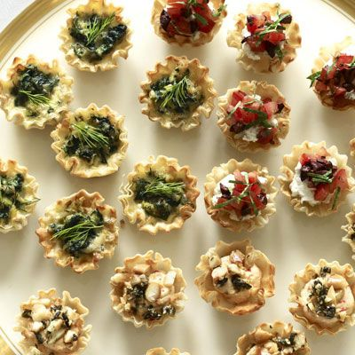 "<p>Tangy goat cheese and summer tomatoes grace this filling for our savory spring tartlets.</p><p><b>Recipe:</b> <a href=""/recipefinder/herbed-goat-cheese-tartlets-recipe-ghk0411"" target=""_blank""><b>Savory Spring Tartlets</b></a></p>"