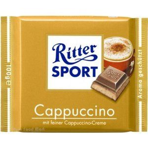 <p>Though they don't currently list any caffeine inspired flavors in their line, over the years Ritter Sport has produced several coffee variants, including Mocca, Coffee Chocolate, and Cappuccino.</p>