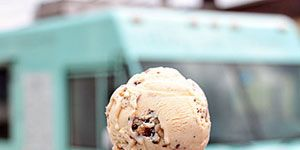 """Itizy churns out small batches of high quality ice cream in New York City, using fresh cream from a local not-for-profit dairy cooperative. Fan favorites include Coffee Brownie, Mint Stracciatella, and Blueberry Mojito Sorbet. The Coffee Brownie ice cream is made with real coffee and features baked-from-scratch brownies, Mint Stracciatella is made by steeping fresh mint leaves in cream base, and Blueberry Mojito is a refreshing sorbet full of blueberries, lime juice, mint and a hint of rum. As if the mouthwatering flavors aren't reason enough to visit Itizy, the company donates 1 school meal to a child in need (thought the UN World Food Program) for every 5 scoops of ice cream sold. <br /><br /> <a href=""""http://itizy.com"""">itizy.com</a>"""
