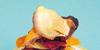 """<p>Kids love crunchy snacks and our healthy alternative to standard potato crisps has extra veggie goodness without losing any of the munchiness.</p><a href=""""http://www.delish.com/recipefinder/spicy-veggie-crisps-recipe-del0813"""">Nicely Spicy Veggie Crisps</a>"""