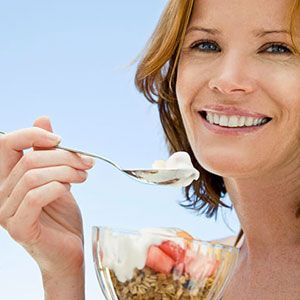 <p>From breakfast to dessert, yogurt tastes great any time of the day. But how much do you know about the nutritious treat? The light, clear liquid that separates out on top of yogurt, for instance, is whey. Stir it in before serving for a little extra protein, or drain it off if you prefer a thicker texture. With dozens of options on store shelves, it's hard to know which to choose — until now. Read on to learn how to tell the difference between yogurts, and click through to meet the cream(iest) of the crop. <br /><br /> <strong>Label Decoder</strong> <br /><br /> FAT CONTENT: Regular yogurt has at least 3.25% milk fat, while lowfat has 2% or below. Nonfat yogurt must have less than 0.5% milk fat. <br /><br /> GREEK AND GREEK-STYLE YOGURT: Both are thicker and creamier than regular yogurt and have about twice the protein. Traditional Greek yogurt is strained to make it thicker, while Greek-style can have stabilizers added for texture. <br /><br /> CULTURES: These are the good bacteria that give yogurt its tangy flavor and help with digestion. Look for The National Yogurt Association's Live & Active Cultures seal on packaging: It means that when manufactured, the yogurt contained at least 100 million active starter cultures per gram.</p>