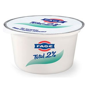 "<p>Pronounced ""fa-yeh,"" this extra-tart yogurt is produced using the traditional straining method, making it one of the thickest on the shelf. Use this variety to whip up a delicious yogurt-blue cheese dip. <br /><br /> <strong>Fage Total 2%</strong> <br /><br /> ($1.59 for 7 oz)</p>"