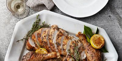 """<p>The centerpiece of your holiday meal, the turkey is one dish you want to get just right — and with this foolproof recipe, you can roast a beautiful, succulent turkey every time.</p> <p><b>Recipe: <a href=""""http://www.delish.com/recipefinder/perfect-roast-turkey-herbes-de-provence-recipe-clv1112"""">The Perfect Roast Turkey with Herbes-de-Provence Rub</a></b></p>"""