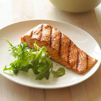 "<p>Reel in a serving of this healthy catch. It's rich in antioxidants, which break down fat cells in cellulite, says Joshua Zeichner, MD, Director of Cosmetic and Clinical Research in Dermatology at Mt. Sinai Hospital in New York City. The omega-3 fatty acids also in salmon ""<a href=""http://www.womansday.com/health-fitness/diet-weight-loss/foods-that-keep-you-full"" target=""_blank"">reduce appetite</a> and low-level inflammation and repair and strengthen skin tissue and fibers,"" says <a href=""http://www.dlsHealthWorks.com"" target=""_blank"">Lori L. Shemek</a> , PhD, a certified nutritional consultant in the Dallas area. This decreases the build-up of toxins inside blood vessels and improves circulation—the waste trapped in the tissues that push against skin filters out.</p>"