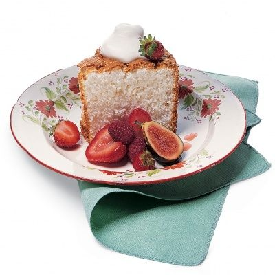 "<p>One slice of this light angel food cake is nothing short of ""heavenly.""</p>"