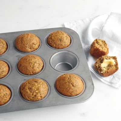 """<p>Make these nutrient-packed muffins over the weekend to have a grab-and-go breakfast on-hand throughout the week for those rushed mornings. Kids will notice the sweetness, you'll know about the zucchini; it's a healthy win-win.</p> <p><b>Recipe:</b> <a href=""""http://www.delish.com/recipefinder/zucchini-banana-flaxseed-muffins-recipe-mslo0713""""><b>Zucchini, Banana, and Flaxseed Muffins</b></a></p>"""