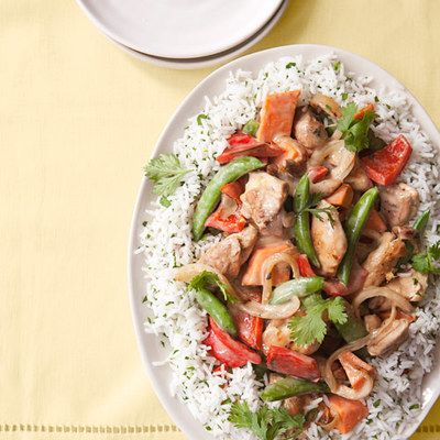 "<p>Served over rice, this chicken curry's spice subtly builds, only to be soothed by the creamy touch of coconut milk.</p> <p><strong>Recipe: <a href=""http://www.delish.com/recipefinder/coconut-chicken-casserole-recipe-ghk0113"" target=""_blank"">Coconut Chicken Casserole</a></strong></p>"