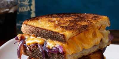 """<p>The rich sweetness of the caramelized onions with the added splash of bourbon will change your boring grilled cheese into a gourmet meal.</p> <p><strong>Recipe: <a href=""""http://www.delish.com/recipefinder/grilled-cheese-bourbon-melted-onions-recipe-rbk0313"""" target=""""_blank"""">Grilled Cheese with Bourbon Melted Onions</a></strong></p>"""
