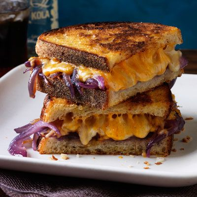 "<p>The rich sweetness of the caramelized onions with the added splash of bourbon will change your boring grilled cheese into a gourmet meal.</p> <p><strong>Recipe: <a href=""http://www.delish.com/recipefinder/grilled-cheese-bourbon-melted-onions-recipe-rbk0313"" target=""_blank"">Grilled Cheese with Bourbon Melted Onions</a></strong></p>"