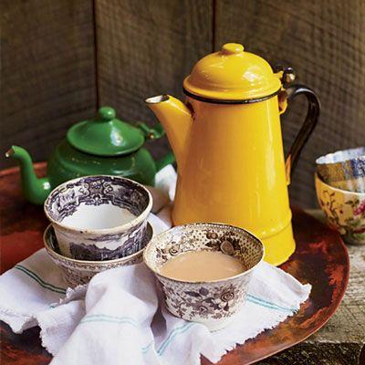 """<p>For this warm, boozy nightcap, you can use a bland of whole spices, or a prepackaged chai spice blend if you're in a pinch.</p><p><strong>Recipe: <a href=""""http://www.delish.com/recipefinder/whiskey-chai-recipe-fw0813"""" target=""""_blank"""">Whiskey Chai</a></strong></p>"""