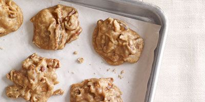 """<p>These sweet treats filled with pecans will hit the spot after any meal — especially after a spicy dinner.</p> <p><strong>Recipe: <a href=""""http://www.delish.com/recipefinder/pecan-pralines-recipe-clv0212"""" target=""""_blank"""">Pecan Pralines</a></strong></p>"""