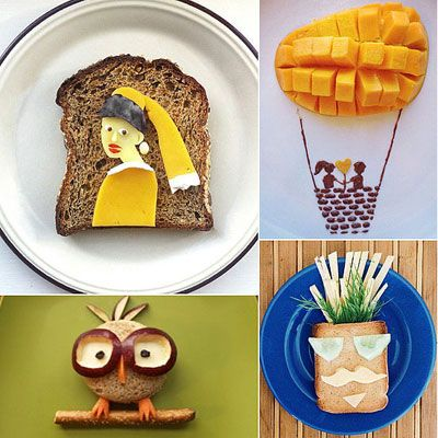 "<p>Remember when mom used to tell you not to play with food? Well, good thing some people didn't listen because there's some seriously fantastic food art on Instagram. We're talking re-creations of the ""Girl With a Pearl Earring"" painting and tropical palm trees that'll transport you to an island with the peel of a banana. Click on for incredible images that for once prove momma wrong.</p> <p>Source: Instagram users <a href=""http://instagram.com/p/Yb7Z2qrBeo/"" target=""_blank"">idafrosk</a>, <a href=""http://instagram.com/p/aeZqssSEPU/"" target=""_blank"">sandy0423</a>, <a href=""http://instagram.com/p/awCQtpR6la/"" target=""_blank"">dear_xtina</a>, and <a href=""http://instagram.com/p/W2xr4mGPf4/"" target=""_blank"">johnloveskylie</a></p>"