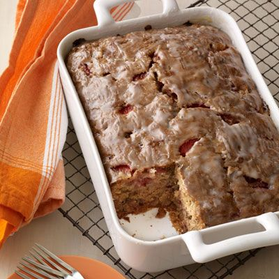 <p>Portioned to feed a crowd, this strawberry-studded update to classic banana bread is perfect for those morning-after holiday meals.</p>