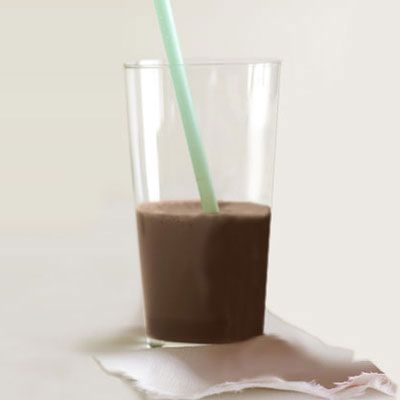 "<p>Your waking body needs energy even if you don't have time to eat in the morning — so drink your breakfast instead. This smoothie has coffee, cashew butter, and soy milk, for caffeine and protein.</p><p><b>Recipe:</b> <a href=""http://www.delish.com/recipefinder/protein-smoothie-recipe-opr0111"" target=""_blank""><b>Get-Up-and-Go Protein Smoothie</b></a></p>"