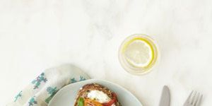 """<p>High in protein and easy to make, this simple egg sandwich recipe makes an impressive meal. Cook the eggs your favorite style for a breakfast that's quickly and easily your own.</p> <p><strong>Recipe: <a href=""""http://www.delish.com/recipefinder/ultimate-egg-sandwich-recipe-rbk0413"""" target=""""_blank"""">Ultimate Egg Sandwich</a></strong></p>"""