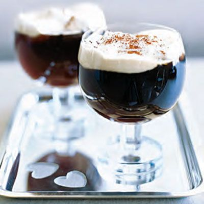 "<p>Irish coffee is a perfect way to end the evening. This one — made from rich coffee, Irish whiskey, whipping cream, and sugar — is especially divine.</p> <p><b>Recipe: </b><a href=""http://www.delish.com/recipefinder/irish-coffee-dessert-drinks-recipes"" target=""_blank""><b>Irish Coffee</b></a></p>"