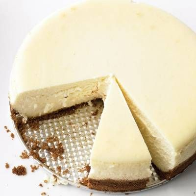 "<p>A crumbly graham cracker crust and silky cream cheese filling make this New York-style cheesecake a winner. </p> <p><strong>Recipe: <a href=""http://www.delish.com/recipefinder/classic-cheesecake-recipe-mslo0214"" target=""_blank"">Classic Cheesecake</a></strong></p>"