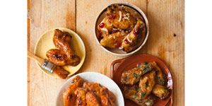 """<p>You can never go wrong topping a batch of crunchy baked wings with a traditional, spicy buffalo sauce. If you're a wing fanatic, make sure to prep a double batch if friends are joining you to watch a game. The wings will go quicker than you expect!</p> <p><strong>Recipe:</strong> <a href=""""http://www.delish.com/recipefinder/fiery-buffalo-wings-recipe-ghk0113"""" target=""""_blank""""><strong>Fiery Buffalo Wings </strong></a></p>"""
