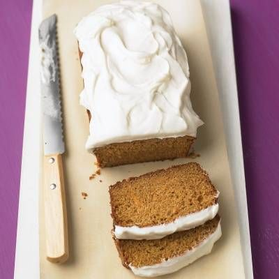 "<p>Grated carrot is the secret to the moistness and mellow sweetness of this loaf cake topped with thick swirls of tangy frosting.</p> <p><b>Recipe: <a href=""http://www.delish.com/recipefinder/carrot-tea-cake-cream-cheese-frosting-recipe-mslo1213"" target=""_blank"">Carrot Tea Cake with Cream Cheese Frosting</a></b></p>"