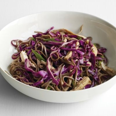"<p>Soba is made from buckwheat, a gluten-free grain, so it's good for people with celiac disease. Some brands of soba also contain wheat — check the ingredient list.</p><p><strong>Recipe:</strong> <a href=""http://www.delish.com/recipefinder/soba-noodle-salad-chicken-scallions-recipe-mslo0114""><strong>Soba Noodle Salad with Chicken and Scallions</strong></a></p>"