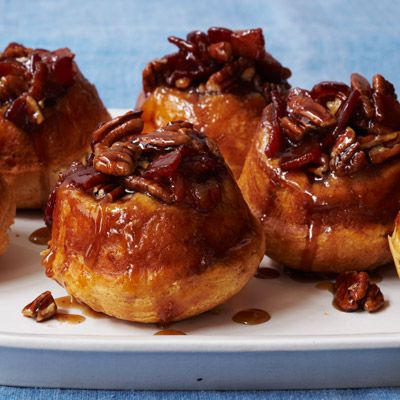 "<p>Two breakfast favorites come together in this sweet and savory recipe.</p><p><b>Recipe:</b> <a href=""http://www.delish.com/recipefinder/maple-bacon-pecan-buns-recipe-wdy0912""><b>Maple, Bacon, and Pecan Sticky Buns</b></a></p>"