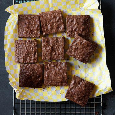 Chocolate-Hazelnut Brownies