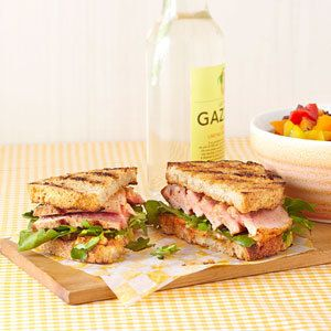 "<p>Sturdy ""country-style"" bread works best for this healthy tuna sandwich recipe with watercress and chili-mayo. Eat the tuna sandwich warm, straight off the grill, or wrap it up and pack it in a cooler for a picnic dinner. Serve with grilled bell peppers drizzled with extra-virgin olive oil and vinegar and a glass of Sauvignon Blanc.</p> <p><b>Recipe: <a href=""http://www.delish.com/recipefinder/grilled-tuna-sandwich-lemon-chili-mayo-recipe-ew0812?click=recipe_sr"">  Grilled Tuna Sandwich with Lemon-Chili Mayo</a></b></p>"