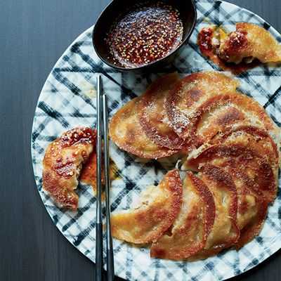 "<p>San Francisco star chef Corey Lee ingeniously reinvents pan-fried dumplings by adding a batter that turns the dumplings into one round, crisp pancake. </p> <p><b>Recipe: <a href=""http://www.delish.com/recipefinder/pork-kimchi-dumpling-pancakes-recipe-fw0114"">Pork-Kimchi Dumpling Pancakes</a></b></p>"