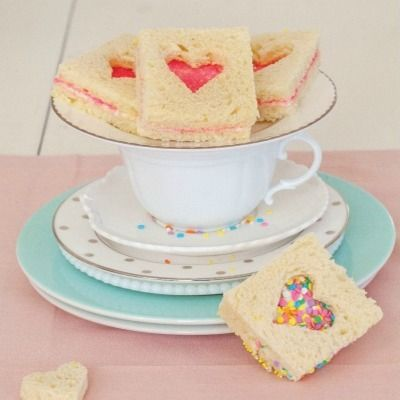 "<p>Inspired by Robert Louis Stevenson's poem ""Fairy Bread"" in <em>A Child's Garden of Verses</em>, this treat is popular at children's parties in Australia, New Zealand, and other parts of the world.</p> <p><strong>Recipe: <a href=""http://www.delish.com/recipefinder/fairy-bread-sandwiches-recipe-del0114"" target=""_blank"">Fairy Bread Sandwiches</a></strong></p>"