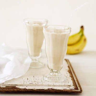 "<p>For a thicker, colder smoothie, cut peeled banana into chunks and freeze up to a week in a self-sealing plastic bag.</p>   <p><strong>Recipe:</strong> <a href=""http://www.delish.com/recipefinder/banana-peanut-butter-smoothie-recipe""><strong>Banana Peanut Butter Smoothie</strong></a></p>"