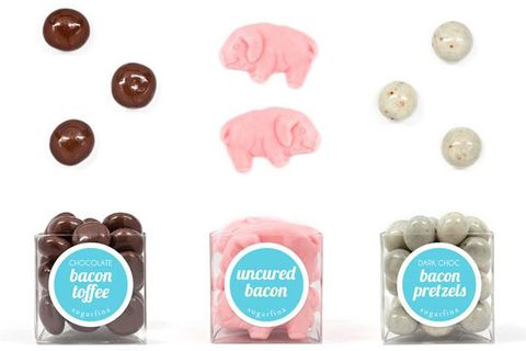 Online gourmet candy boutique Sugarfina has just launched its first store front in Beverly Hills, Ca. The brand is known for its cocktail themed candies including Champagne Gummy Bears, Cuba Libre (spiced rum and coke gummies) and Peach Bellini Gummies. It also is home to a private candy concierge for private clients and events as well as a build your own bento wall where customers can pick up either an 8 or 3-piece box to fill up with their candy assortments.