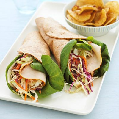 <p>A fast, tasty meal, this lean version of the classic Reuben sandwich recipe is still quite hearty, and most of the fresh ingredients can be found in the precut section of the produce aisle.</p>