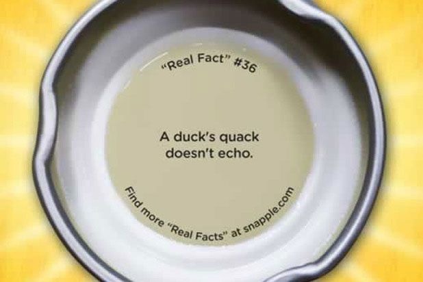 """A duck's quack does not echo."" <br /><br /> <i>Mythbusters</i> tackled this one for us: while the echo of a quack may be difficult to distinguish from the quack itself, a duck does not actually generate special un-echo-able sound waves."