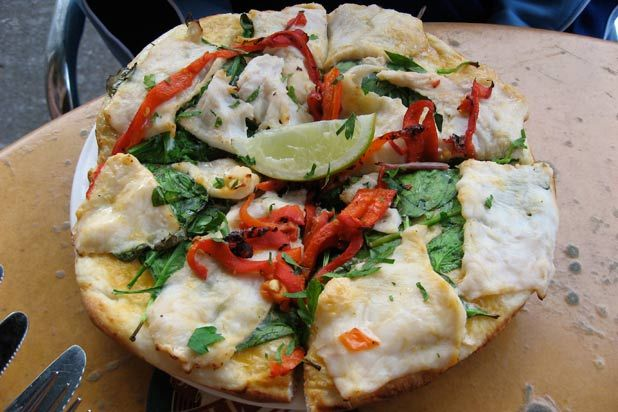 <p>Crocodile pizza and crocodile bread are quite popular in Australia… in fact, as an abundant local meat, crocodile is often consumed in various dishes. If you fancy, there are also kangaroo and emu pizza toppings on offer at select eateries around the country. No word on Crocodile Dundee's involvement in this creation! </p>