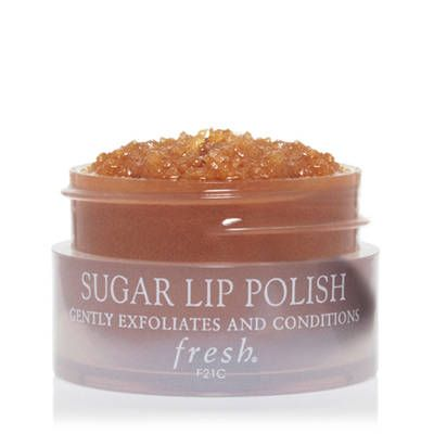 Scrub away flakey lips with brown sugar. http://www.fresh.com/lipcare/sugar-lip-polish/H00001924.html