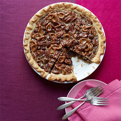 "<p>This deliciously crunchy pie has some surprising undertones of orange, vanilla, and cinnamon, which are perfect contrasts to the salty pretzels.</p>  <p><strong>Recipe:</strong> <a href=""http://www.delish.com/recipefinder/chocolate-pretzel-pecan-pie-recipe-wdy1113""><strong>Chocolate Pretzel Pecan Pie</strong></a></p>"
